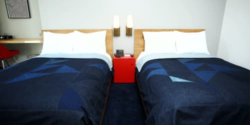 Linens & Bedding by Raleigh Denim at The Durham Hotel, Durham - Custom Bedspreads