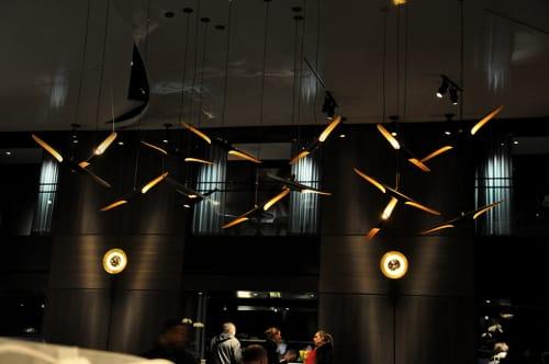 Lighting by Delightfull seen at Paramount Hotel, New York - Coltrane Ceiling Lamp
