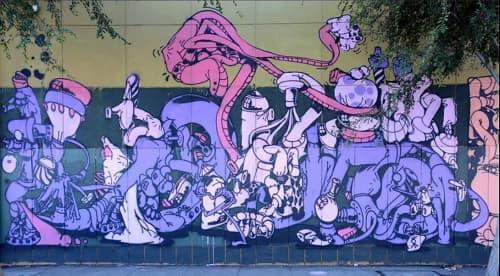 Street Murals by Antwan Horfee seen at Folsom Street, San Francisco, San Francisco - No Escape image 2