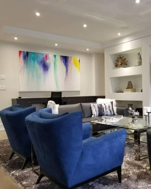 Splash Of Color   Paintings by Peter Triantos