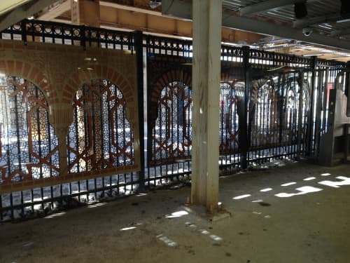 Parallel Frames of Reference | Sculptures by Deedee Morrison | Lawrence Station, Chicago in Chicago