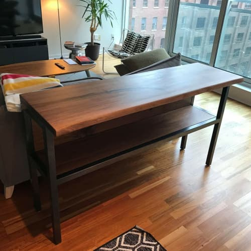 Tables by Caveman Build & Supply Co. - Live-Edge Kitchen Island