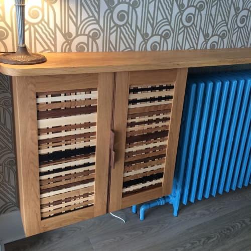 Furniture by SILVIE VARONE design & build seen at Angel Hair, Toronto - Custom Door