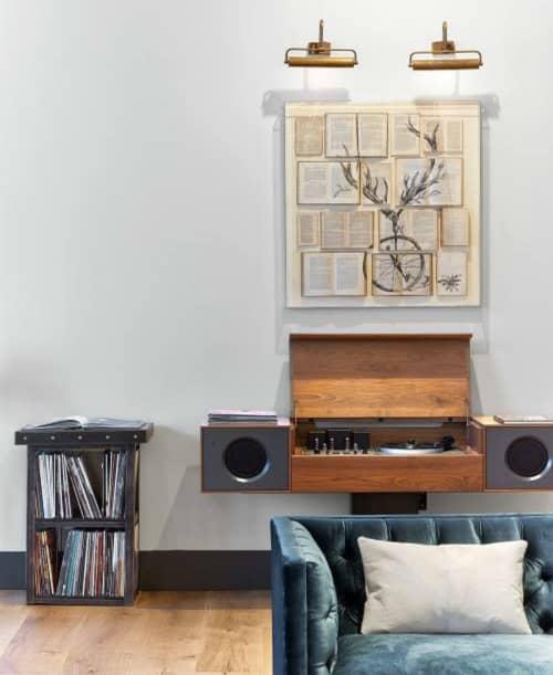 Modern Record Console | Appliances by Symbol Audio | Kimpton Hotel Van Zandt in Austin
