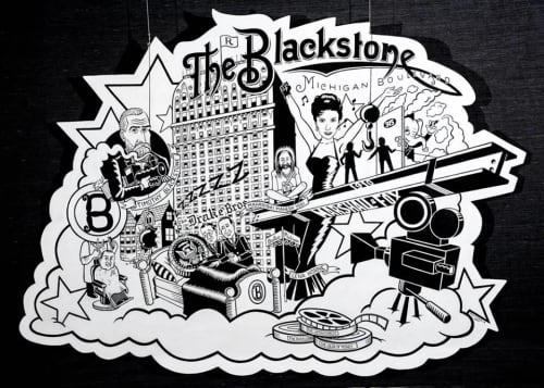 The Blackstone Chronicle | Art & Wall Decor by Eric J Garcia | The Blackstone, Autograph Collection in Chicago