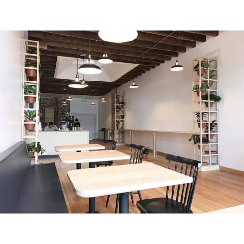 Custom Frame Planter | Furniture by Trey Jones Studio | Broadcast Coffee in Seattle