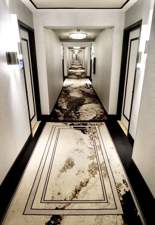 Only From Within   Rugs by Sarah Raskey   Loews Miami Beach Hotel in Miami Beach