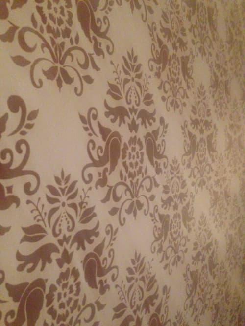 Wall Treatments by Caroline Lizarraga seen at Alba Ray's, San Francisco - Wall Covering