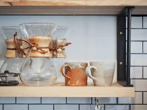 Tableware by Kimmy Rohrs at Fleet Coffee Co, Austin - Coffee Mugs