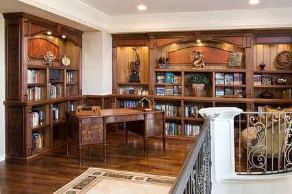 Custom Wood Library | Furniture by Brian Hubel