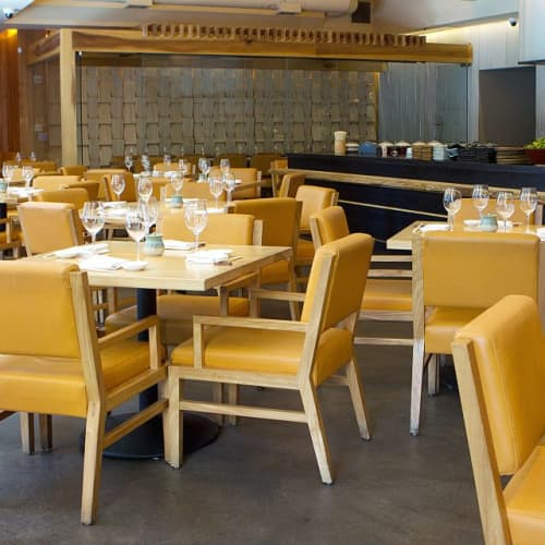 Leather Chairs   Chairs by Arcanum Architecture   Roka Akor San Francisco in San Francisco