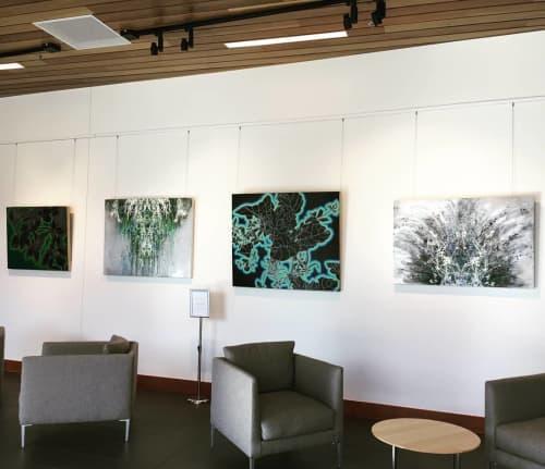 Reflective Nature | Paintings by Cara Enteles Studio | Boulder JCC (Boulder Jewish Community Center) in Boulder