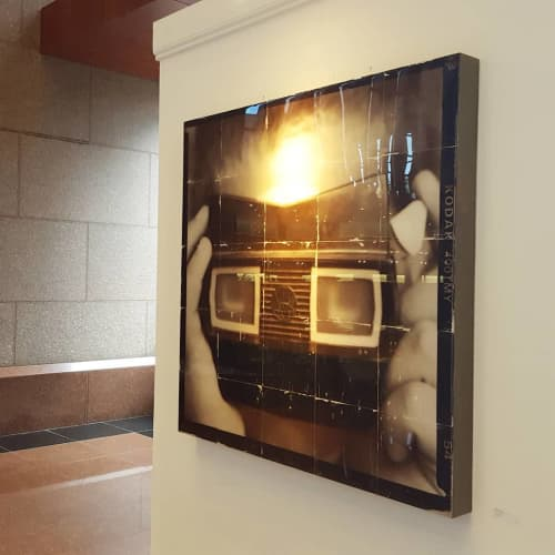 Photography by Pam Moxley Mixed Media seen at Private Residence, Atlanta - See No Evil