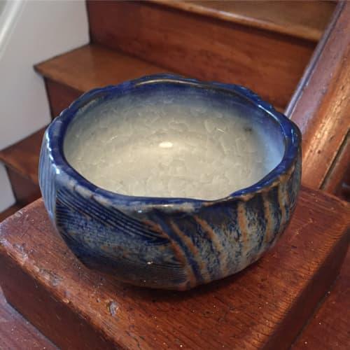Tableware by Brendan Roddy Art at Brendan Roddy Art Studio, Kennebunk - Faceted Bowl
