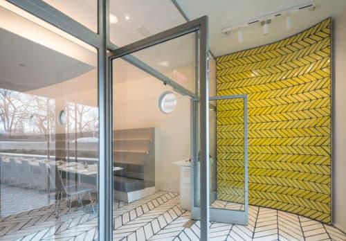 Handmade Terracotta Tiles | Tiles by Sarah Crowner | The Wright in New York