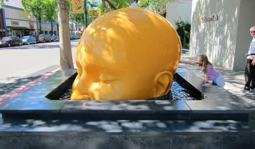 Sculptures by Seyed Alavi seen at Walnut Creek Downtown, North Main Street, Walnut Creek, CA, Walnut Creek - Fountainhead