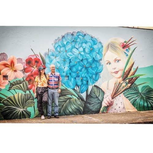 Medellín Somos Arte Mural   Murals by La Rivera Ilustrada   Colegio De San José Palermo in Medellín