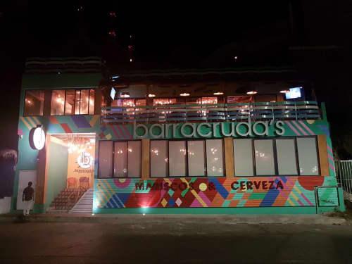 Mural | Street Murals by Teddy Kelly | Barracruda's in Mazatlán