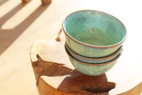 Sage Bowls | Tableware by Ceramics by Charlotte