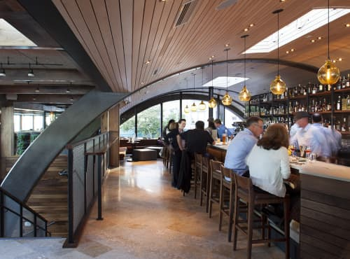 Jug Lamp   Pendants by Cisco Brothers   Barrel House Tavern in Sausalito