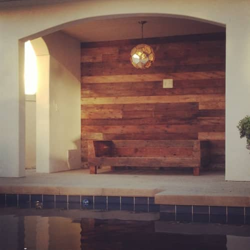 Cabana Wall and Daybed | Beds & Accessories by Monkwood