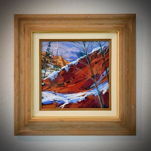West Fork Canyon | Paintings by Michael Mckee
