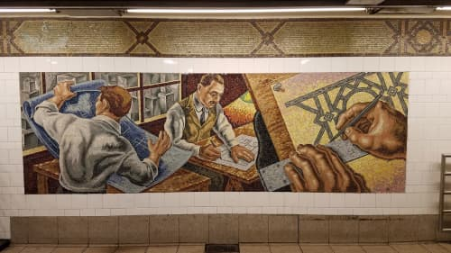 Street Murals by Owen Smith seen at 36th Street, Brooklyn, Brooklyn - An Underground Movement: Designers, Builders, Riders
