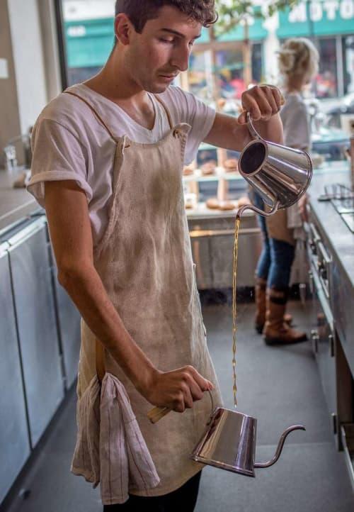 Bespoke Canvas Aprons | Aprons by Matt Dick - Small Trade Company | Samovar Tea Bar in San Francisco