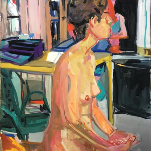 Gouache   Paintings by Betsy Kendall   Sticks Picture Framing & Art in Berkeley