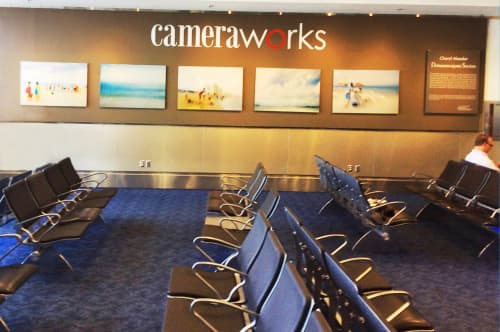 Photography by Artist Cheryl Maeder seen at Miami International Airport, Miami - Miami International Airport, Public Art Installation, Cheryl Maeder's Dreamscapes Series Photographs