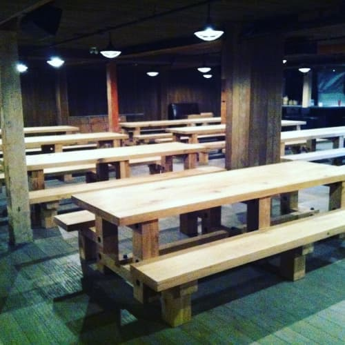 Benches & Ottomans by Tank Calgary at WURST, Calgary - Benches and Tables