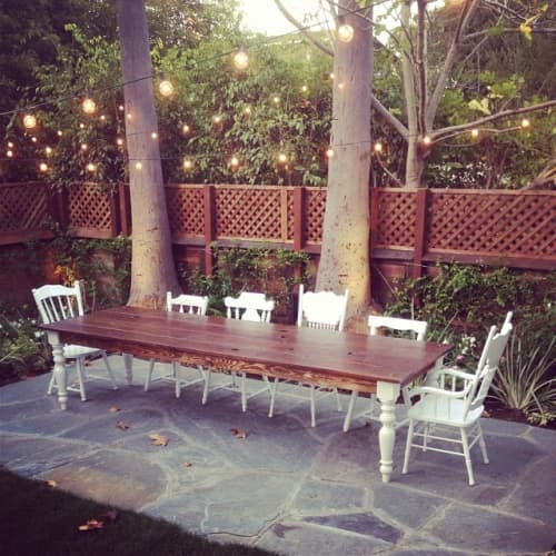 Outdoor Dining Table | Tables by Monkwood | Venice Beach in Los Angeles