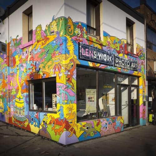 Mural | Murals by AL Runt | Lens Work in Toronto