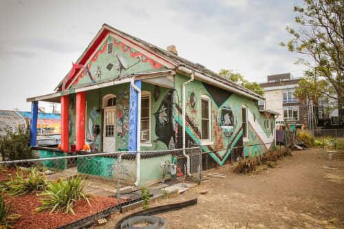 Mercy's House   Murals by Max Kauffman   2541 Larimer Street, Denver, CO in Denver