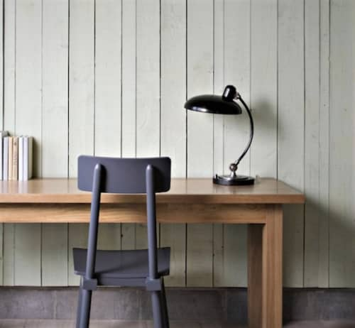 Bruno Table Lamp   Lighting by Robert Abbey   Boro Hotel in Queens