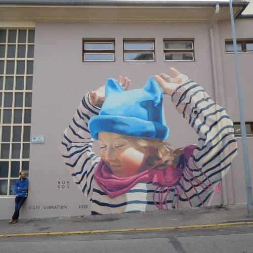 Street Murals by OCM Vibration seen at Gainsbar, Saint-Dié-des-Vosges - Mural