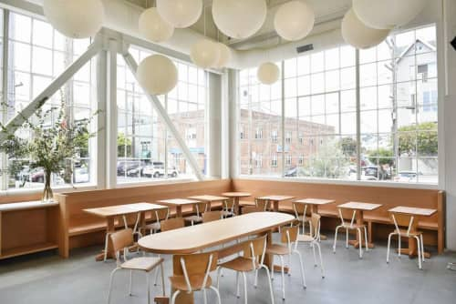 Wood  Furniture | Furniture by Peter Doolittle -  PDX Productions | Tartine Manufactory in San Francisco