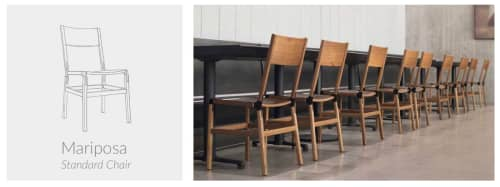 Mariposa Standard Chair | Chairs by Fyrn | Independent Lodging Congress, in the William Vale NYC in Brooklyn