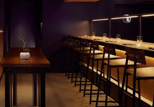 Chairs by Token at Momofuku Ko, New York - Tea Stool