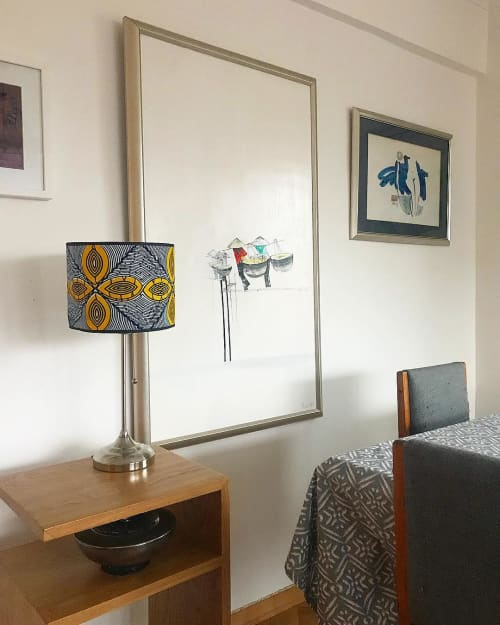 Lamps by 3RD Culture - Mazabuka Lampshade