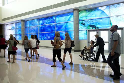 Blueprint of Flight | Art & Wall Decor by Martin Donlin | Dallas Love Field Airport, The New Terminal 2 in Dallas