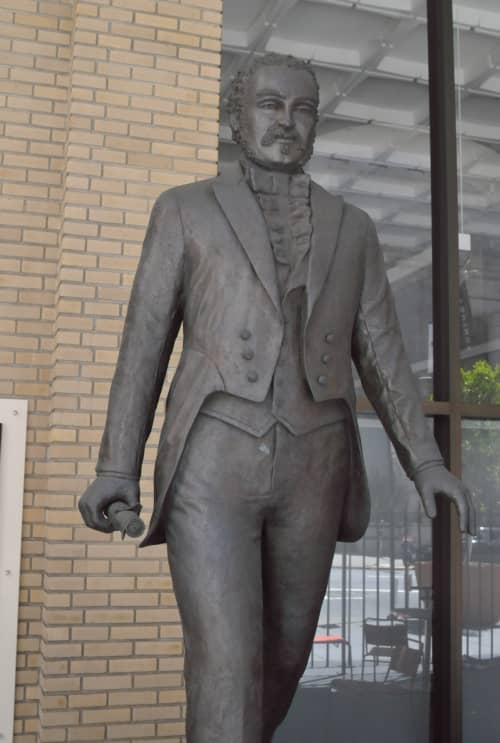 Sculptures by Bruce Hasson at One Leidesdorff, San Francisco - William Alexander Leidesdorff