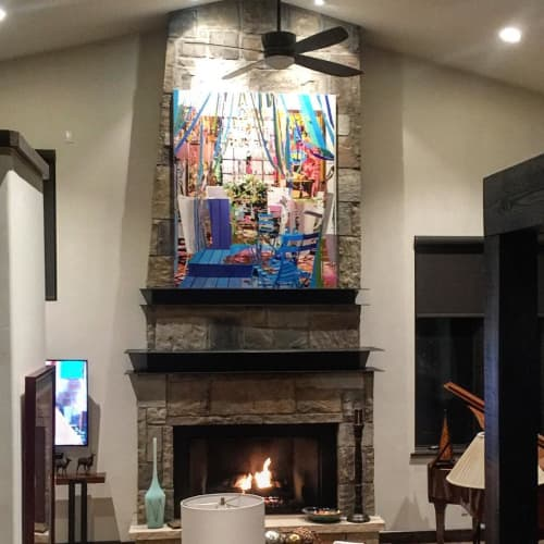 Paintings by Daryll Westly seen at Private Residence, New York - Coast To Coast