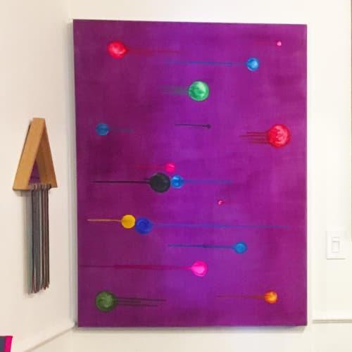 """Purple Dreams"" | Paintings by PrisciFranco"