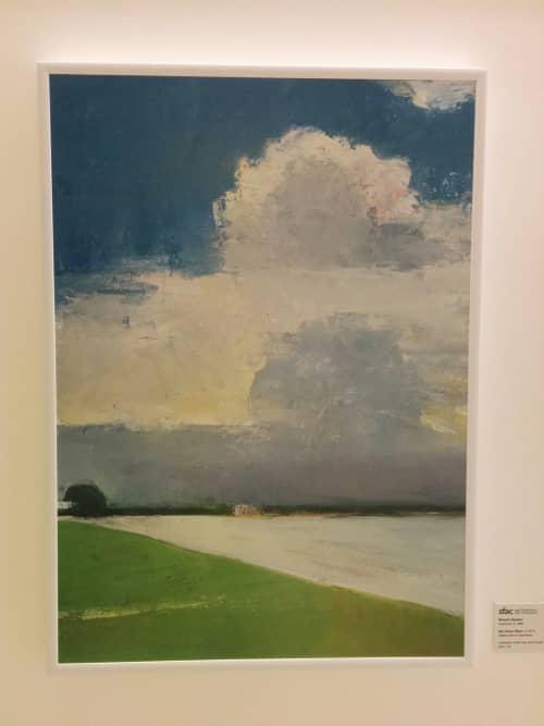Big Cloud, Ripon | Paintings by Michele Ramirez | Zuckerberg San Francisco General Hospital and Trauma Center in San Francisco