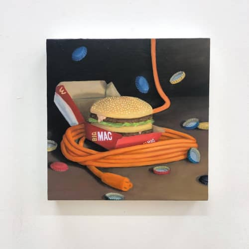Paintings by Troy Chew at Cushion Works, San Francisco - Painting