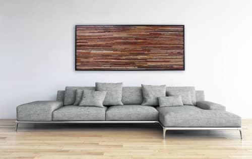 Reclaimed Wood Artwork | Wall Hangings by Craig Forget