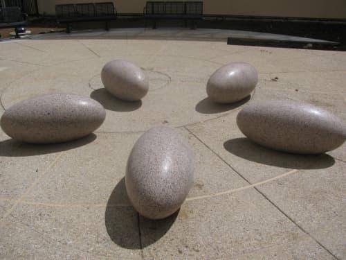 Bloom | Sculptures by Jonathan Bonner | Laguna Honda Hospital and Rehabilitation Center in San Francisco