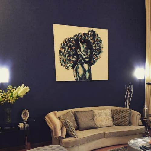 Paintings by PATE Arts & Crafts seen at Private Residence, Sandton - Painting