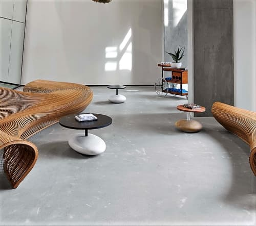 Pave Drink   Tables by Enzo Berti   Dropbox Headquarters SF in San Francisco